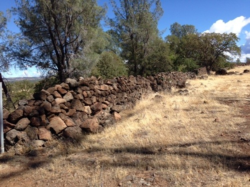 Part of the ranch has these beautiful rock walls built on it. They are impressive. I cannot imagine how hard and heavy it would have been to build.