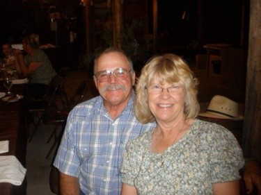 Noel & Nancy Ryan. Married 40 years. Nancy grew up as a farmers daughter and one of 5 children. Her fathers family settled in the Paso Robles area in the 1860's. Noel was raised on his family's ranch established in 1874 by his great grandfather.